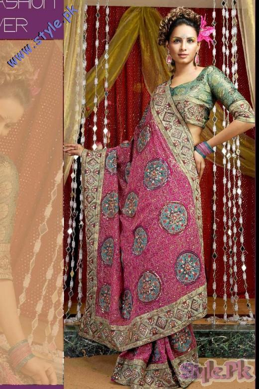 Outstanding Designer Sarees for Wedding 520x780 fashion trends