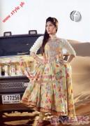 3 Piece Suit With Silk Dupatta by Firdous Cloth