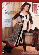 Black And White Printed Shirts For Women by Firdous Cloth