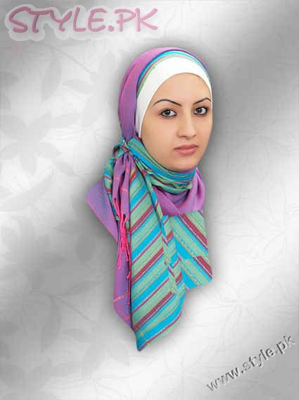 hijab styles and arabic makeup. Different Styles Of Hijab For