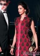 Hot Deepika in Red Dress - Party Wear