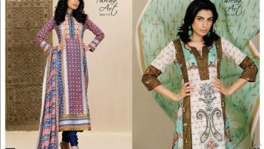 Lawn Dresses For Women by Al Karam