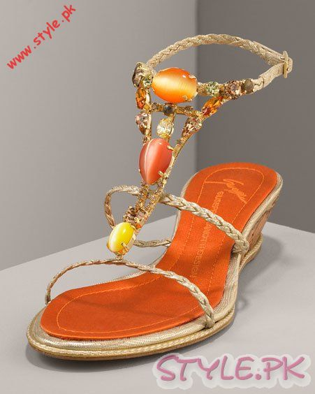 Innovative New Pakistani High Heel Shoes For Women Wallpapers Collection 2016