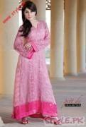 Shaista Wahidi Wearing Summer Collection 2011 by Firdous Cloth