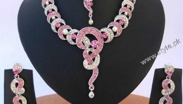 American Diamonds AD Jewelery Set For Women