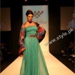SAKINA MOHSIN in DXB Fashion Week 2011