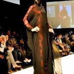 Winner Of Emerging Talent SAMAH ALI in dubai fashion week