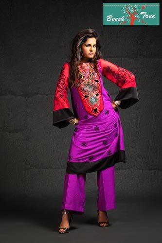 semi formal violet dress
