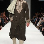 Embroidery Work on kurta by Designer HSY