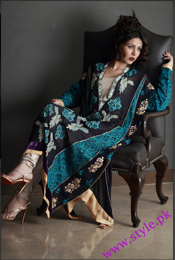 Latest Party Wear Dresses For Women 2011 Collection