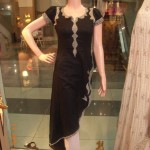 Latest Style of Kameez for women Embroidery on Sleeves and Galla 150x150 stylish dresses