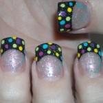 Nail Polish using Glitters 150x150