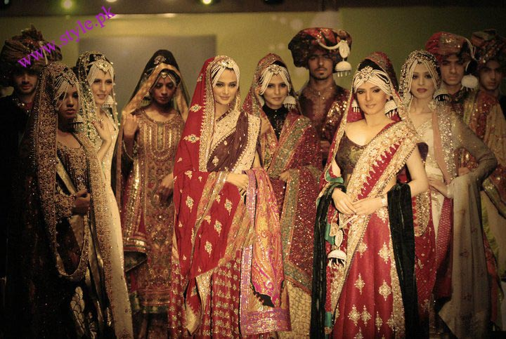 Ali xeeshan bridal saree collection 2011
