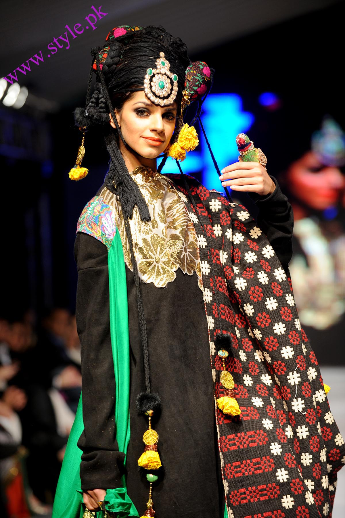 Ali xeeshan collection at Lahore fashion week