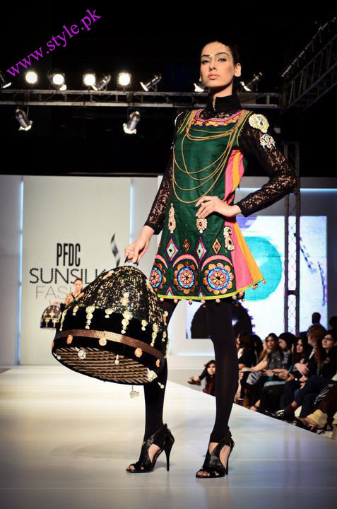Ali xeeshan collection at PFDC sunsilk week
