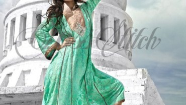 Ayyan feature model for cross stitch collection