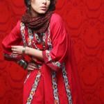 Ayyan wearing Khaadi Khaas pret dress
