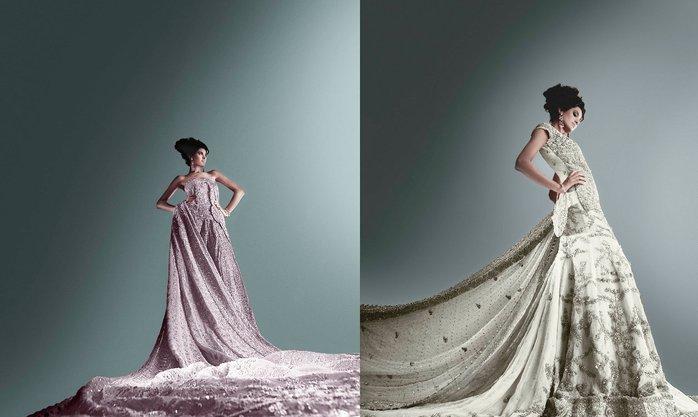 Bridal wear by Umar sayeed 2011