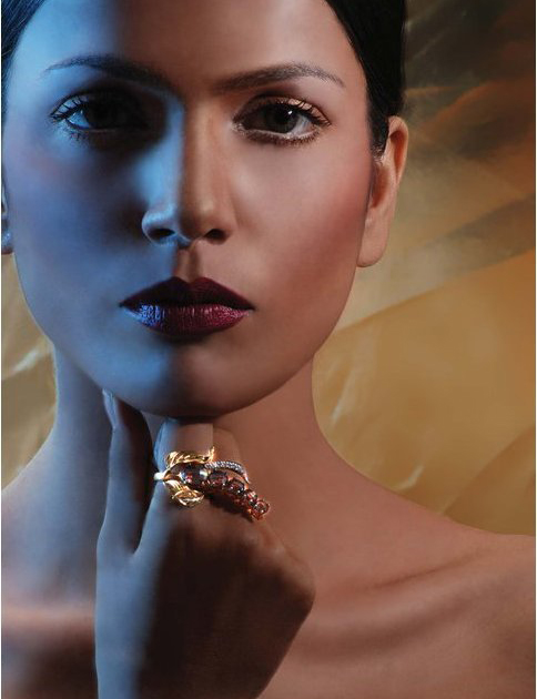Gold rings Latest Pakistani fashion for women 2011
