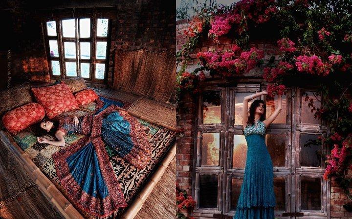 Latest Pakistani fashion for girls 20111