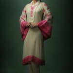 Nadia hussain in Khaadi Khass ready to waer dress