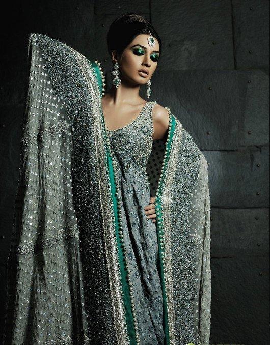 Pakistani bridal wear 2011