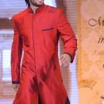 Red Sherwani For Men