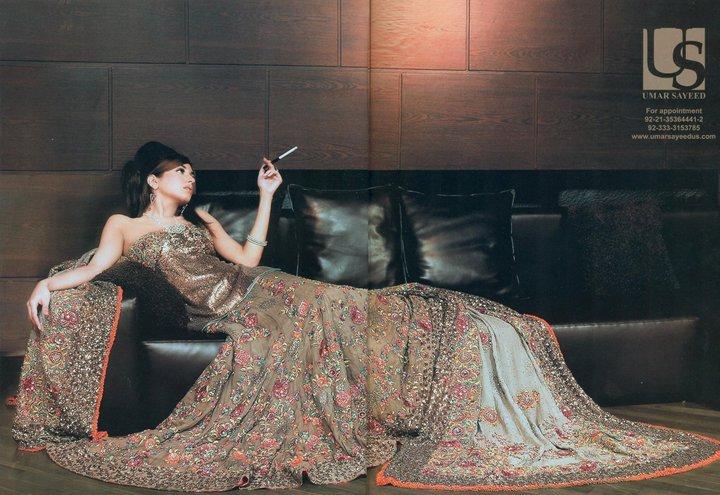 Umar sayeed Bridal collection 2011
