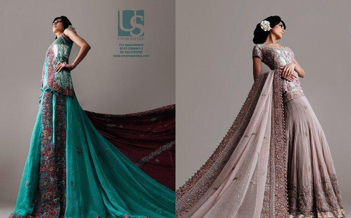 Umar sayeed bridal dresses