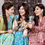 eid lawn collection for girls