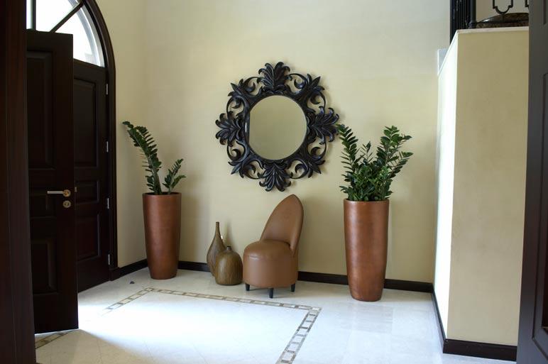 Zen Foyer Design : Zen interior home design and decoration