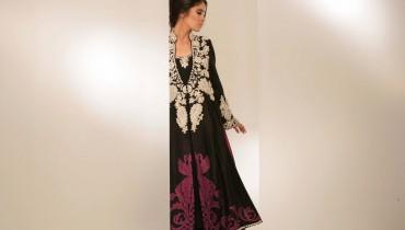Black Formal Dresses by Sanya Muneer 008