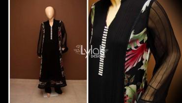 Black Long Shirt by Lylak Designs 008
