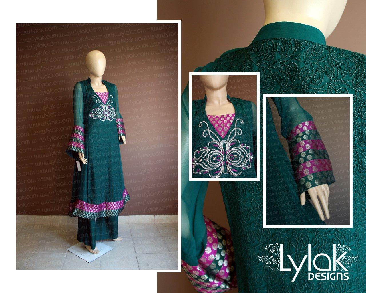 Party Wear Dress by Lylak Designs 002