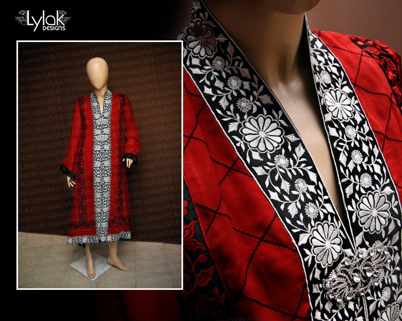 Red Formal Dress by Lylak Designs 004