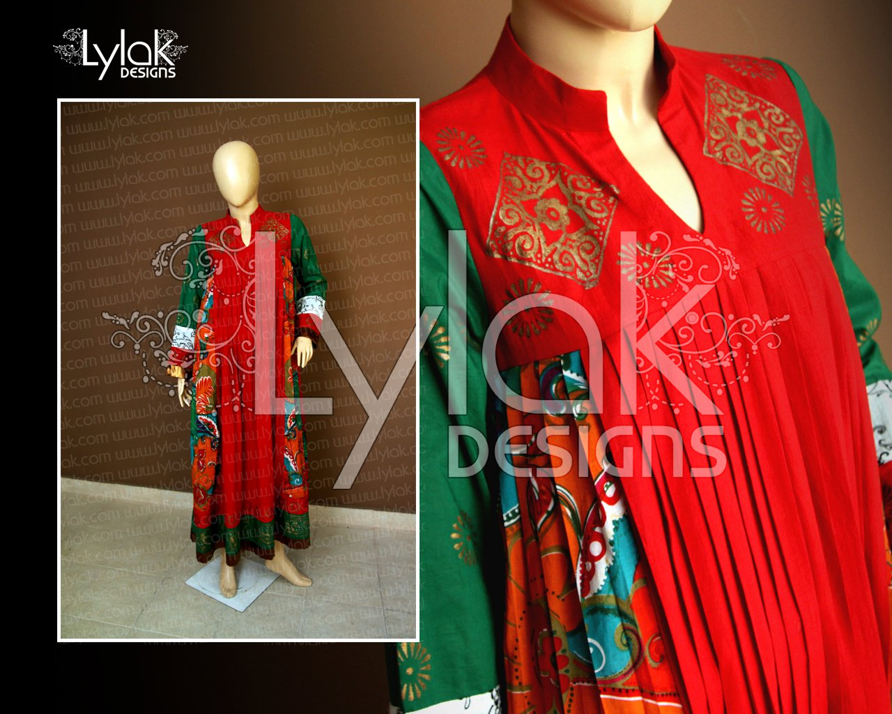 Red Frock by Lylak Designs 006