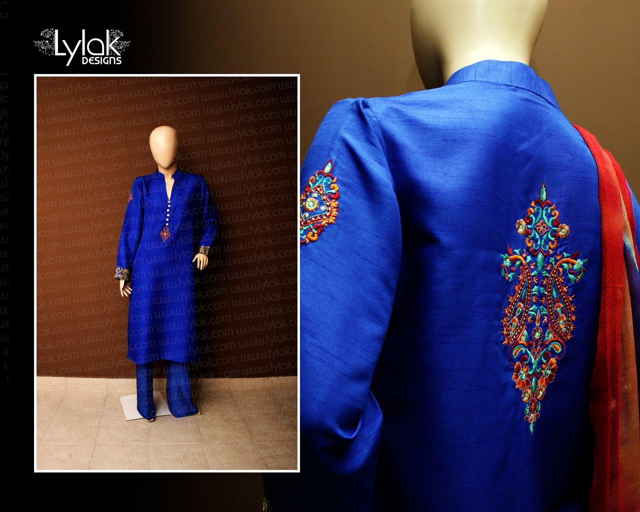 Royal Blue Dress by Lylak Designs 001
