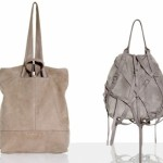 grey and off white hand bags 645