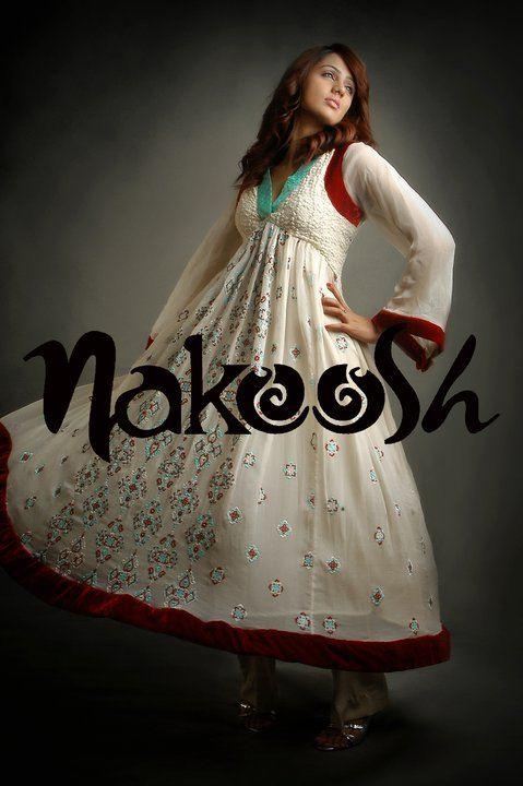 long frock by naqoosh