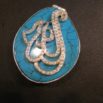 silver and gold plated Allah pendant for girls 1 (11)