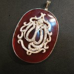 silver and gold plated Allah pendant for girls 1 (5)