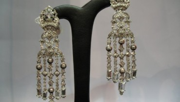 silver earings for girls 10