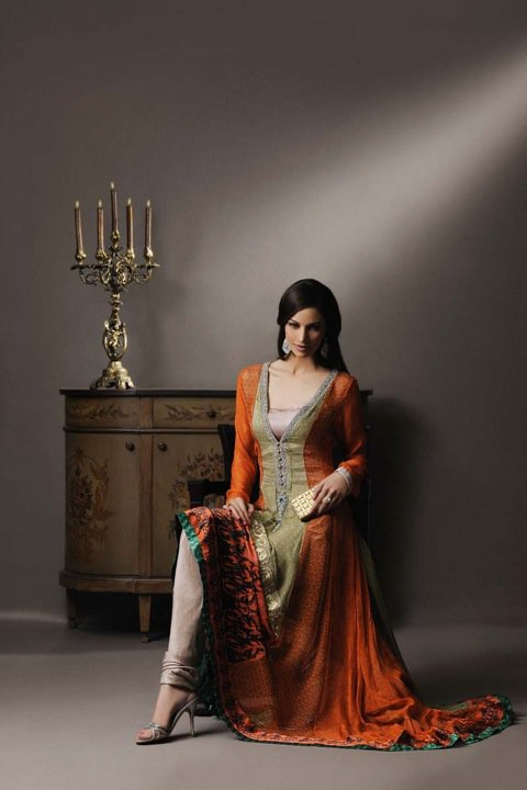 Amazing eid collection of SOBIA NAZIR 2011 003 stylepk  - Eid collection of SOBIA NAZIR 2011