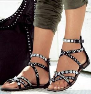 692ebd69afc95 The Original QueenBMakeup  Gladiator sandals for women 2011