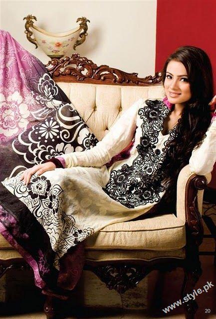Eid dresses for pakistani girls 7382