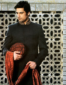 Junaid Jamsheds Sherwani Style 2011 6style.pk