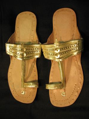 Kolhapuri Chappal Collection 2011 For Girls Style Pk