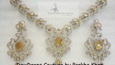 Silver Sets at DewDrops Couture by Parkha Khan 001 style.pk
