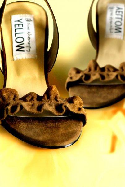 Suede ruffle heels 003