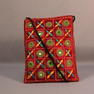 Embroidered handbag for school girls 2011